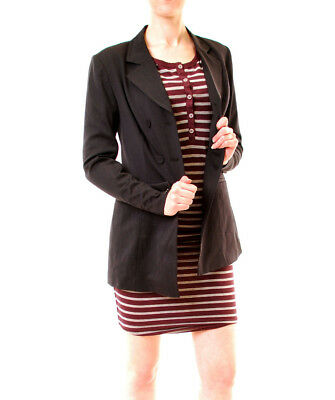Finders Keepers Women's Resolution Blazer Black Size S RRP $180 BCF611