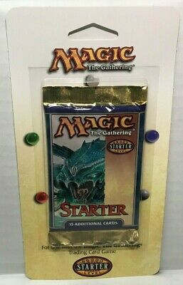 Magic The Gathering Starter Booster Pack, 1999, NEW, SEALED, MTG