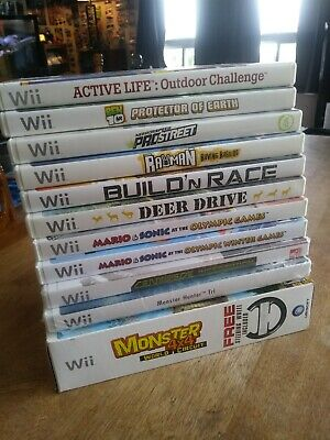 Nintendo wii game lot.  11 games. Some new