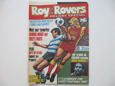 Roy of the Rovers Holiday Special Football Comic (1988)