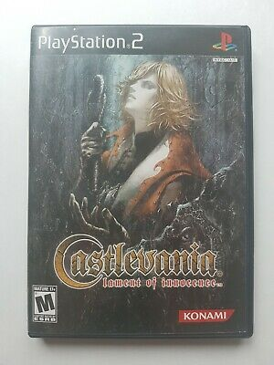 Castlevania: Lament of Innocence (Sony PlayStation 2, 2003) COMPLETE AND TESTED