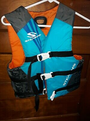 Stearns Flotation Aid Life Jacket Ski Vest Youth vest 25-29 inches 50-90 lbs