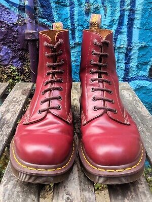 Dr. Martens 1460 Boots / Made in England / Oxblood / UK Size 9