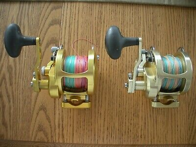 AVET HX 5/2 MC RAPTOR Two-Speed Lever Drag Reel HX5/2