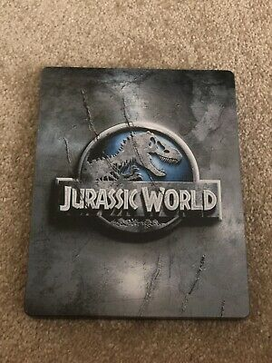 Jurassic World 3D Hmv Exclusive - Steelbook Blu-Ray