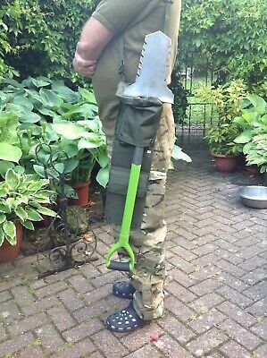 Metal Detecting Army Bag with Shoulder Strap Carry Small Shovel or Small Coil