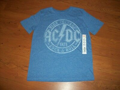 New with tags boys Jumping Beans bad shirt, size 7 AC/DC
