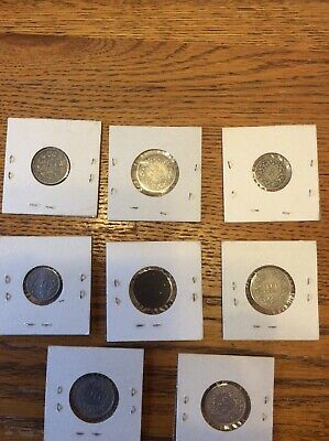 Selection Of Swiss Rappen Coins 1880 To 1958