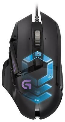 Logitech G502 910-004615 Proteus Spectrum RGB Tunable Gaming Mouse 12,000 DPI