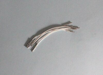 """3"""" Chin Strap Hat Elastic for Vogue Ginny, Ginger or Muffie Doll 5 per package"""