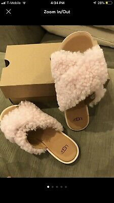 e31ef9cda20 UGG JONI SANDALS In Pink New In Box! Size 8