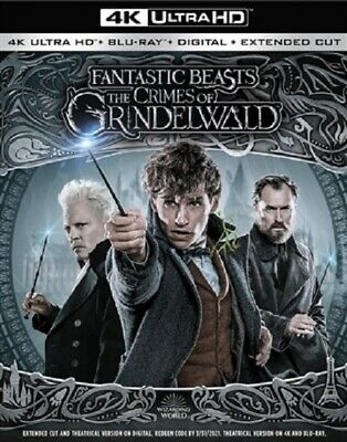 Fantastic Beasts: The Crimes of Grindelw 4K (used) Blu-ray Only Disc Please Read