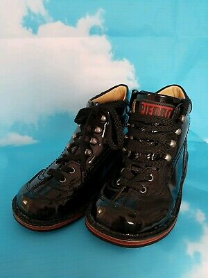 Piedro Orthopaedic Rehabilitation Size 30 Black Patent Leather Only 1wk Wear