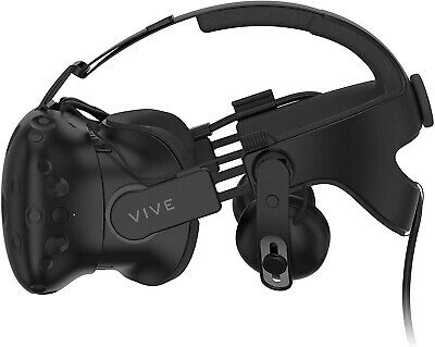 HTC Vive VR Headset (99HAHZ024-00) with Deluxe Audio Strap
