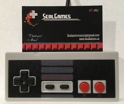 Nintendo Entertainment System Retro Controller Gamepad 8 Bit For Original Nes