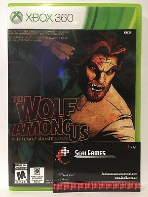 The Wolf Among Us (Microsoft Xbox 360, 2014) Very Good Canadian Seller