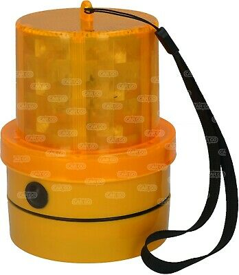 HC CARGO 172253 Amber LED Beacon Portable Magnetic Battery Powered - No Wiring !