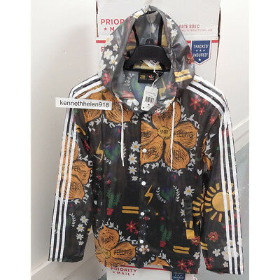 adidas x Pharrell Williams Hu Hiking 3 Layer Herren Jacke