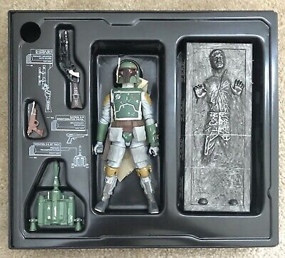 SDCC 2013 LE Star Wars The Black Series BOBA FETT & HAN SOLO in Carbonite NEW