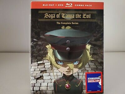 Saga of Tanya the Evil: The Complete Series Blu-ray/DVD NEW sealed Anime lot
