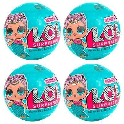 LOL Surprise Doll Series 1 Sidekick 4-Pack Mermaid L.O.L Figures MGA 79FEzr1