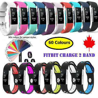Replacement Bands for Fitbit Charge 2 Band Sports Watch strap Belt Buckle HR