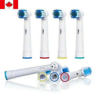 Replacement Electric Toothbrush Heads NEW For Braun Oral B CROSS Action 4 Head