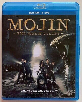 Mojin The Worm Valley Blu Ray 1 Disc Only Free World Wide Shipping Buy It Now
