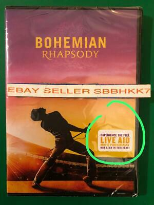 Bohemian Rhapsody DVD {{{AUTHENTIC DVD READ LISTING }}} Brand New Free Shipping