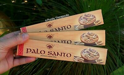 PALO SANTO MASALA INCENSE STICKS~Green Tree 15gms x 3  Wicca Smudge Pagan Ritual