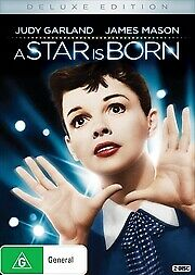 A Star Is Born Dvd, The Original With Judy Garland, 1954, Region 4, Free Post