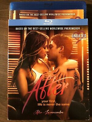 NEW After 2019 Unrated Version Blu-Ray w Slipcover Canada Bilingual SEALED