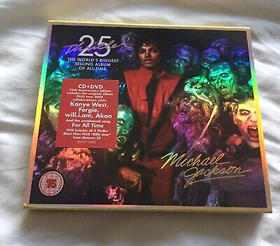 Michael Jackson - Thriller - 25th Anniversary Edition Special Edition Cd Cover