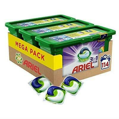 Ariel 3-In-1 Pods Colour And Style, Washing Liquid Capsules, 114 Washes BEST SEL