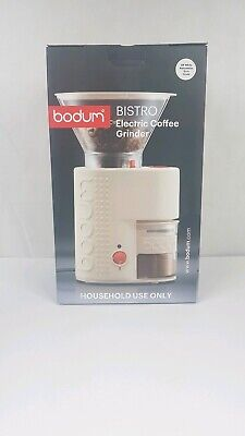 Bodum Bistro Burr Grinder, Electronic Coffee with Continuously Adjustable Grind