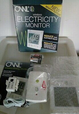 OWL + LCD Wireless Energy Monitor Home Electricity Smart Usage Meter