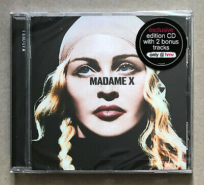 Madonna * Madame X * Uk Hmv Exclusive Special Edition 15 Trk Cd * New & Sealed!