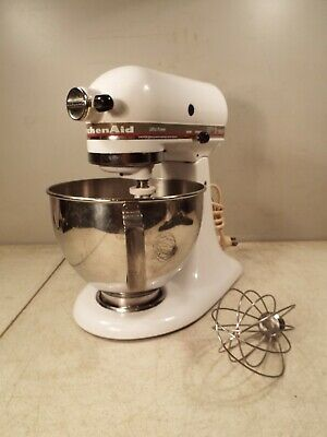 KitchenAid Stand Mixer 300 Watt Ultra Power KSM90 With Bowl and 2 Attachments