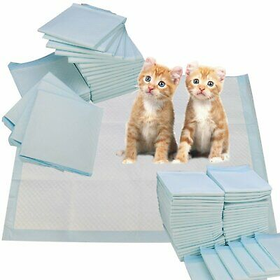50-200 Extra Large Puppy Training Pads Floor Toilet Pee Wee Mat Pet Dog 60x45cm
