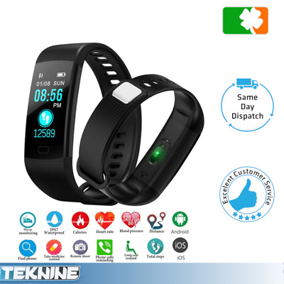 Y5 Smart Watch Fitness Activity Step Tracker Callorie Counter Bracelet Wristband