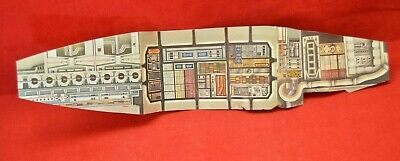Vintage Original Kenner Star Wars Millenium Falcon Inside Card board insert