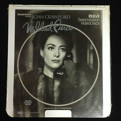 Mildred Pierce CED Laser Disc VideoDisc SelectaVision - NEW SEALED 1983