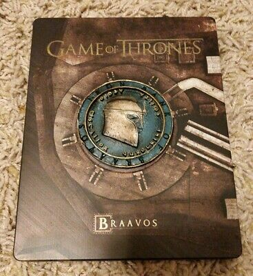 Game of Thrones Season 6 Steelbook Limited Edition Blu Ray (NO digital code)