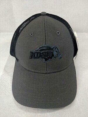 d0052de1f3fbb North Dakota State NCAA Cap Hat Ouray Adult Mesh Trucker Adjustable Gray  NDSU OS