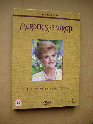 Murder She Wrote  Complete Seventh Series   Dvd