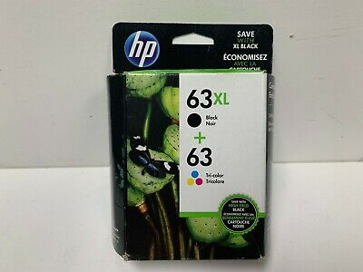 New HP 63XL 63  Cartridges Envy 4522 4523 4524 Officejet 4650 4652