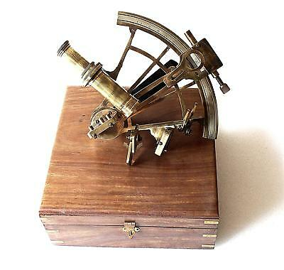Nautical Marine Heavy German Working Model Ship Sextant Sea Collectible Gift Ite
