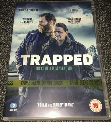 Trapped DVD Boxset The Complete Season Two (Series 2)(2019, 3-Disc Set) BBC