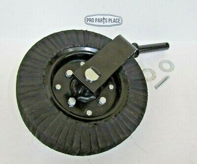 """Bush Hog, Rhino, King Kutter, Woods, Land Pride Tail Wheel Assembly With 1-1/4"""""""