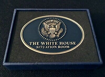 "President Donald Trump 2 1/2"" The White House ""Situation Room"" Challenge Coin"